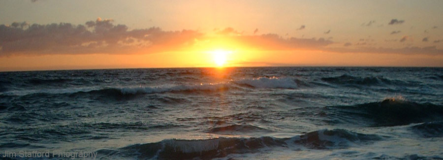 Image of a Lake Worth ocean sunrise