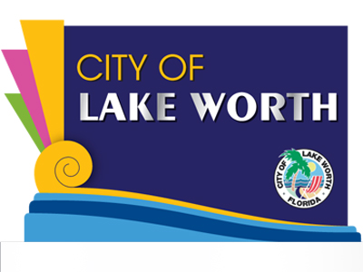Graphic image of City of Lake Worth landmark sign