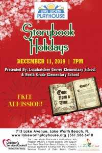Storybook Holiday poster