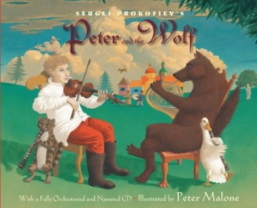 Peter and the Wolf book cover