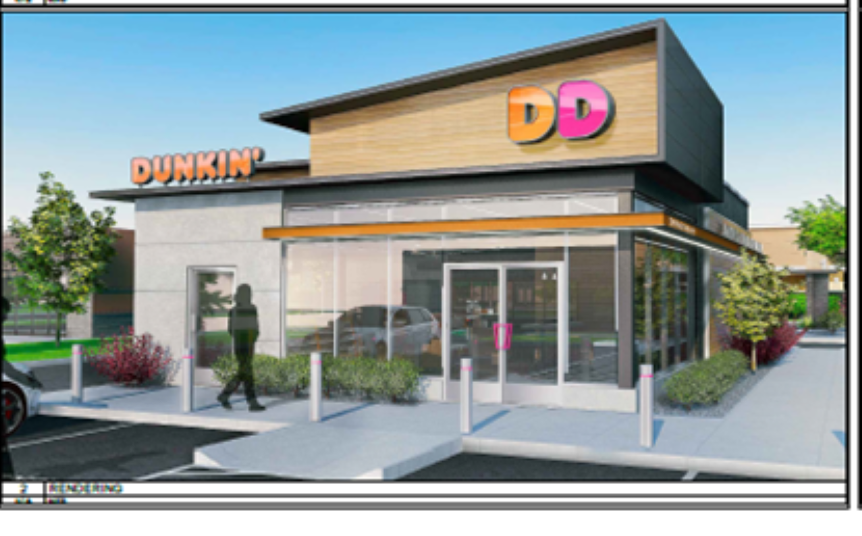 Image of Dunkin Donuts building