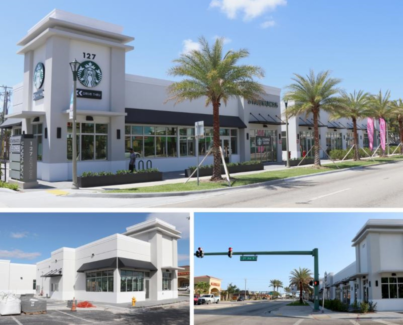 Images of new commercial buildings at 127 North Dixie Highway
