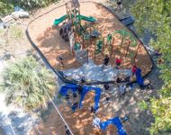 Ariel view of Tropical Rdige playground
